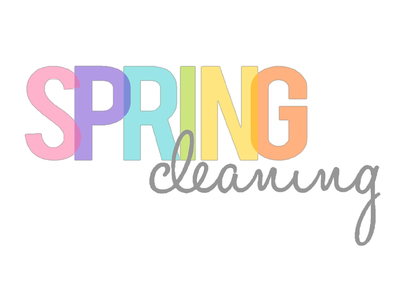 Spring Clean Simple With Spring Cleaning Image