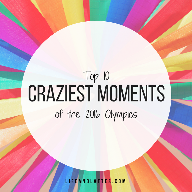 The Top 10 Viral Moments Of 2016: Top 10 Craziest Moments Of The 2016 Olympics