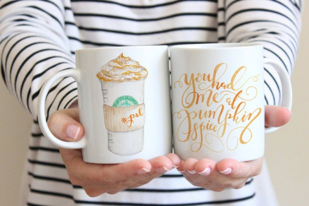 You had me at pumpkin spice coffee mug