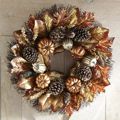 Fall finds - beautiful autumn wreaths