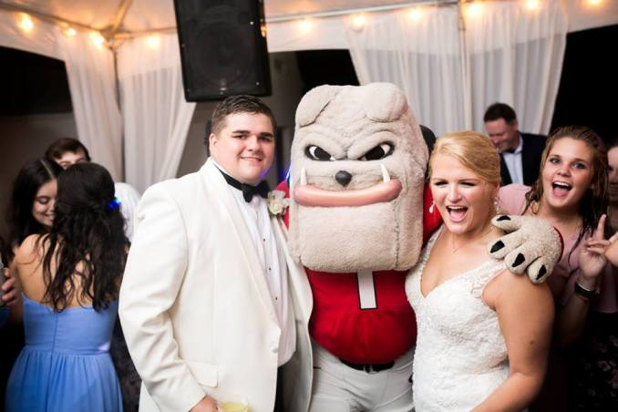 university-of-georgia-southern-wedding-hairy-dawg