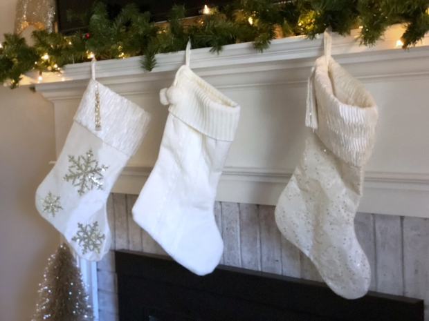 gold-silver-white-christmas-stockings