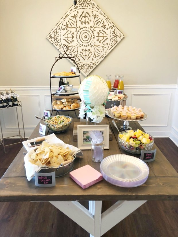 travel-themed-bridal-shower-food